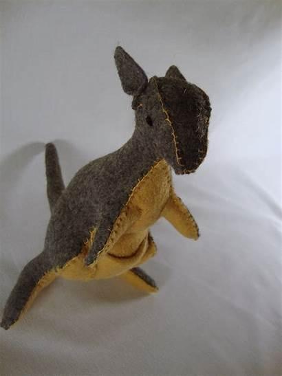 Plushie Kangaroo Animal Animals Australian Felt Cut