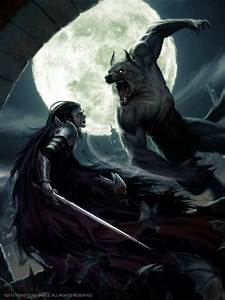 Lycan VS Vampire by Akeiron on DeviantArt