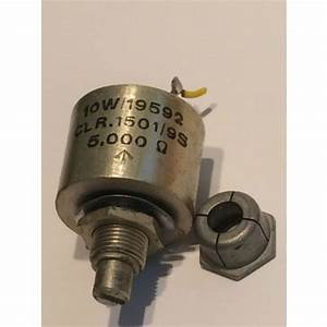 Colvern 5k Ohm 2 Watt Wire Wound Vintage Potentiometer