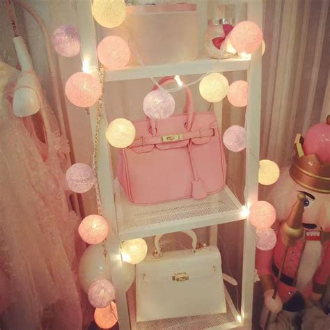 cotton balls lights guirlande lumineuse christmas led