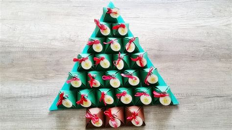 basteln adventskalender diy adventskalender selber machen advent calendar crafts youtube