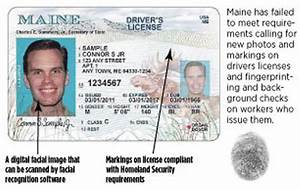 without change in state law maine ids won39t get mainers With documents for real id