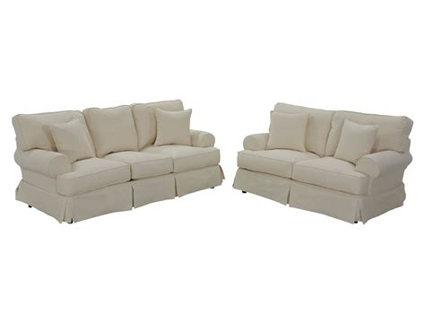 Sofa Slipcover Set by Classic Slipcover Sofa Set Jerome S Furniture Living