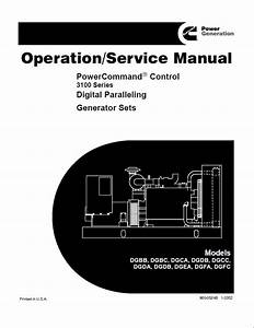 Cummins Powercommand Control Digital Generator Service Manual