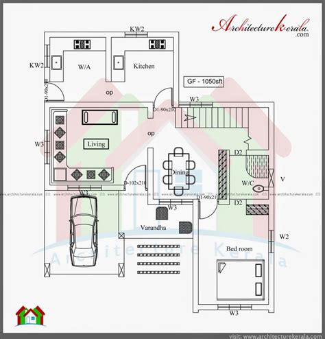 luxury kerala  bedroom house plans  home plans design