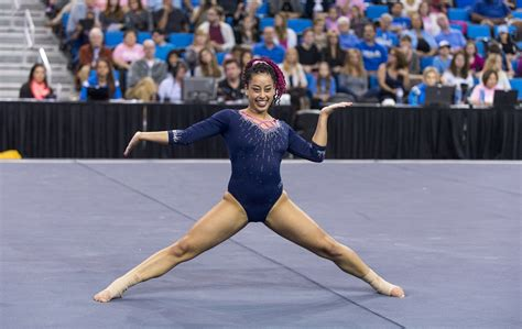 Hip Hop Gymnastics Floor Routine by Pgotd Ucla Gymnast Sophina Dejesus Sophina Dejesus