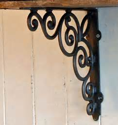 Decorative Metal Wall Shelf Brackets