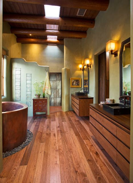 colorful southwestern bathroom designs  inspire
