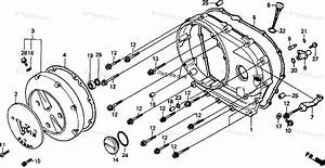 Honda Motorcycle 1993 Oem Parts Diagram For Right