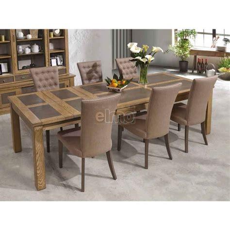 table cuisine ceramique table salle à manger chêne massif pieds bois plateau céramique gbs1948