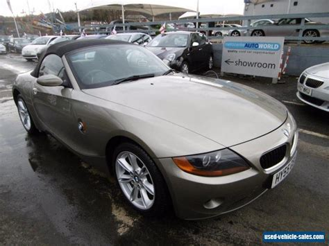 2005 Bmw Z4 For Sale In The United Kingdom