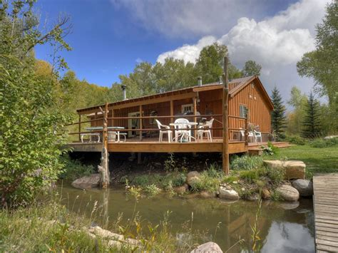 waterfront cabin rentals in durango colorado riverside cabin waterfront vrbo