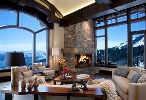 Mountains - Rustic - Living Room - salt lake city - by