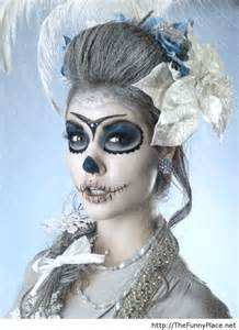 Scary Girl Halloween Makeup