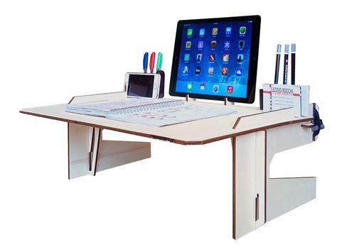 writing desk for bed laser cut wood bed desklaptop deskwood tablet standlaptop