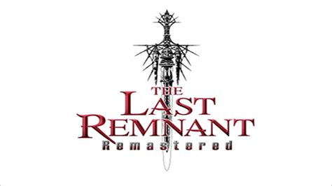 The Last Remnant Remastered Arrives on PlayStation 4 Today