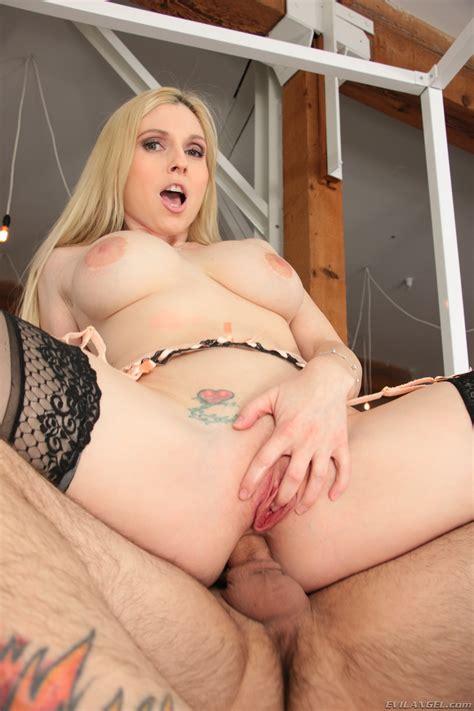 Big Ass Big Tits Blonde White Milf Rides A Dick Anally