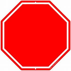 Blank stop sign clip art clipartsco for Stop sign template