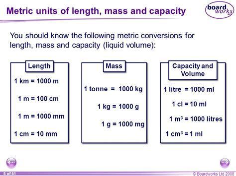 maths age s8 measures ppt