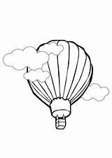 Balloons Coloring Balloon Reference Cartoon Ballon sketch template