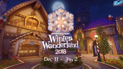 overwatch winter wonderland    skins ranked
