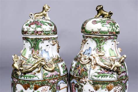 vasi cinesi valore coppia di vasi in porcellana cina xix sec vendita