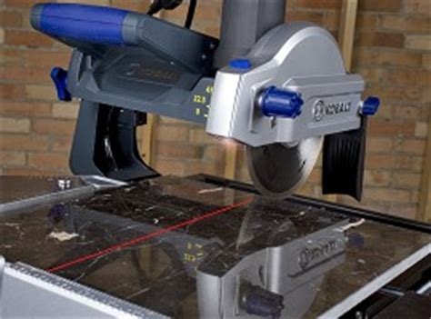 kobalt 7 tile saw with stand laser guide