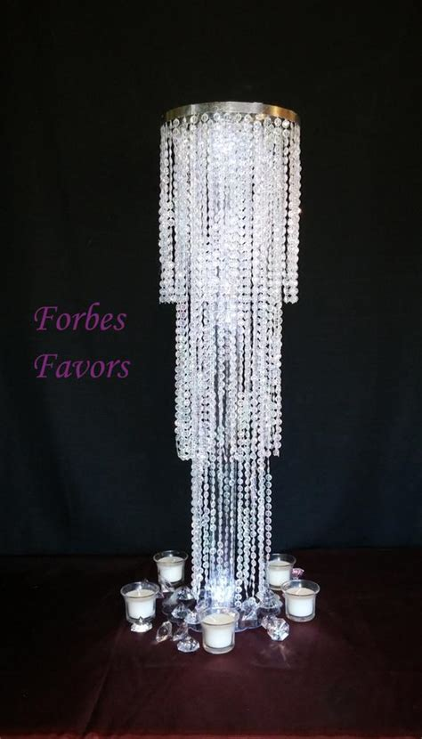 30 Exquisite Chandelier Centerpiece With Riser By Forbesfavors