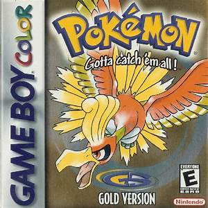 Pokemon Gold Version Box Shot for Game Boy Color - GameFAQs