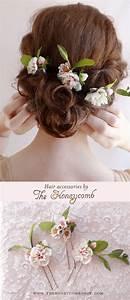 Best 25 Flower Hair Accessories Ideas On Pinterest