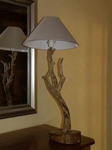 Lampe Chevet Bois Flotté : lampes salon d cos bois flott s galets page 3 ~ Teatrodelosmanantiales.com Idées de Décoration