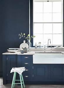 the house directory blog little greenes new colour With kitchen cabinets lowes with navy blue and pink wall art