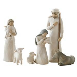 willow tree nativity figurines 26005 behold the awe and wonder of the christmas story