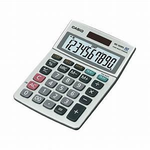 Calculatrice De Bureau Casio MS 100 MS Fournitures
