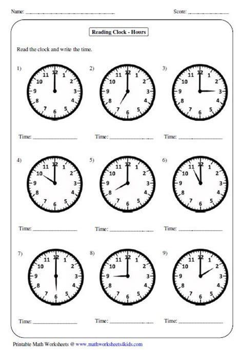year 7 time worksheets great worksheets for telling time perfect for years 1 5
