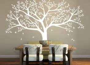 items similar to family tree wall decal tree wall sticker vinyl tree wall decor t46 on etsy