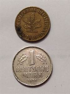 Eby De : 2 assorted german coins 1968j 1 mark 1950j 10 pfennig germany ebay ~ Orissabook.com Haus und Dekorationen