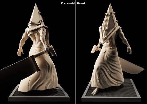 Pyramid Head 3d Model 3d Printable Obj Stl Cgtradercom