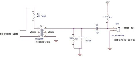 Telephone Wiring Voltage by Voltage What Of Mic Do I Need To Connect To A Pots
