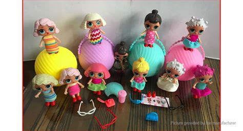 lol surprise doll   friends ball toy  pack
