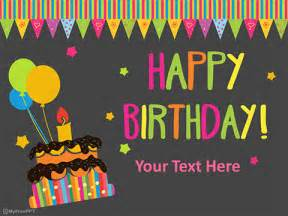 template free singing birthday cards together with free free birthday powerpoint templates myfreeppt