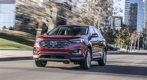 2019 Ford Edge Debuts Fresh Style At Detroit Auto Show