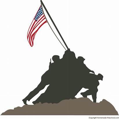 Corps Clipart Patriotic Transparent Marine Memorial War
