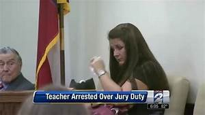 Teacher arrested for missing jury duty