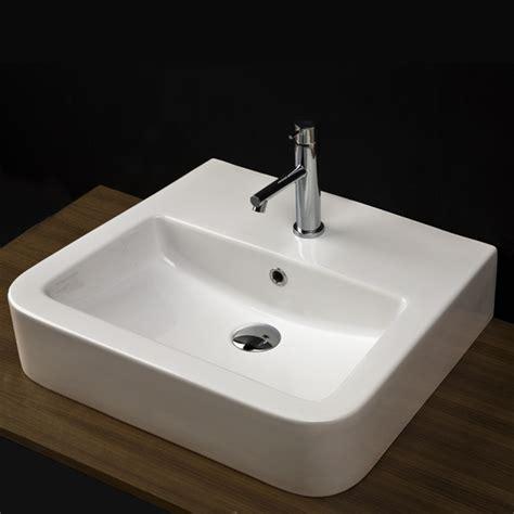 Modern Wall Mount Bathroom Sinks by Lacava Open Space Wall Mount Lav Sink Modern Bathroom