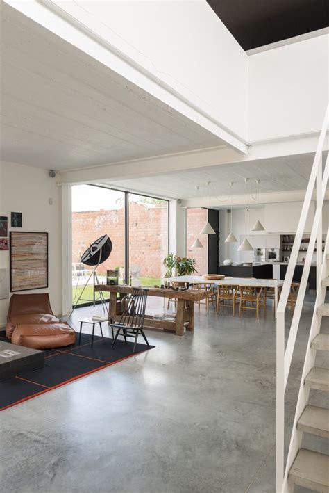 kove interieurarchitecten concrete floors living room house flooring industrial house