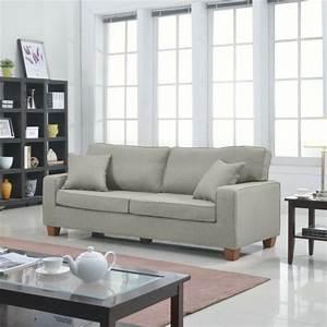 Le canape lin pour un salon style en 45 images magnifiques for Tapis design avec jeté de canapé en lin