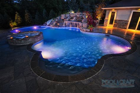 50 Inground Swimming Pool Lighting Ideas And Colors