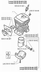 Husqvarna 141 Parts List And Diagram