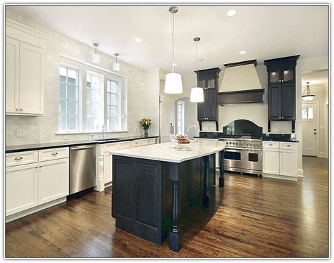 kitchens knives antique white kitchen cabinets with black island home design ideas